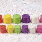 五色の盛菓子