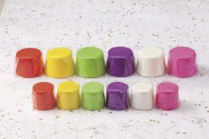 5色の盛菓子